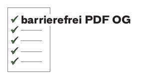 Logo Barrierefrei PDF OG
